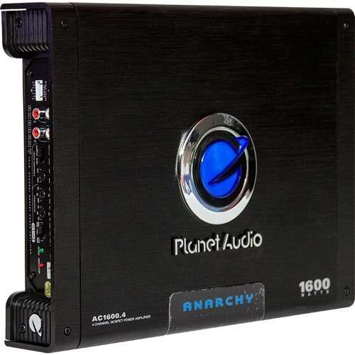 Amplificador 4 canales planet audio ac1600.4 envío gratis
