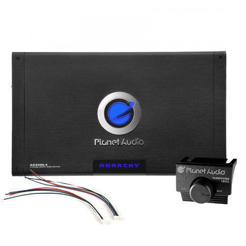 Amplificador 4 canales planet audio ac2400.4 2400 watts