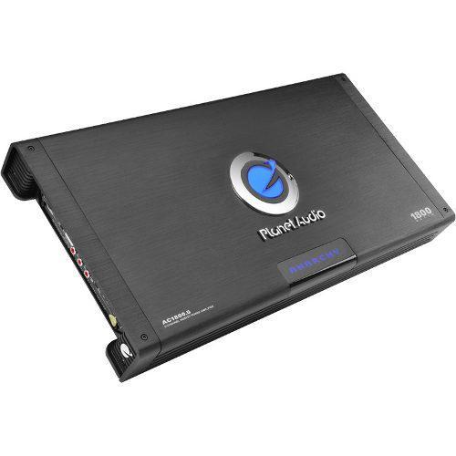 Amplificador 5 canales planet audio ac1800.5 bocinas woofer