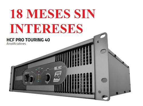AMPLIFICADOR BACKSTAGE TOURING PRO 40 (4000W), usado segunda mano  México (Todas las ciudades)