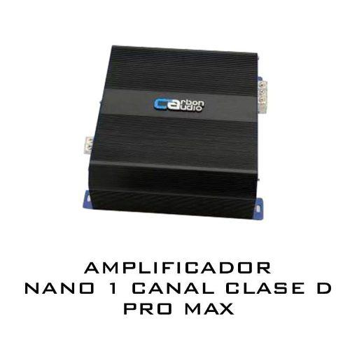 Amplificador carbon audio 1 canal 6000w pro max competencia