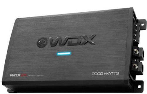 Amplificador db drive clase d wdx2k para bajos nuevo