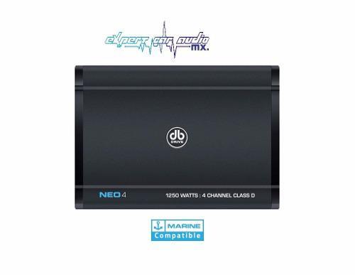 Amplificador db drive marino neo4 clase d 4 canales