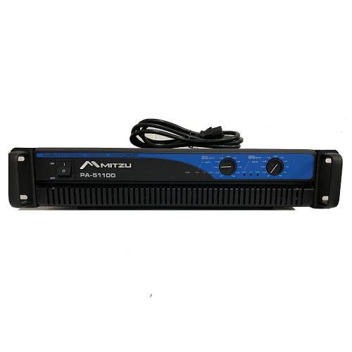 Amplificador De Sonido Profesional Pa-51100 Tipo Qs C Mitzu