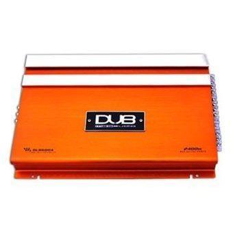Amplificador dub 4 canales 2400w clase a/b modelo 6004