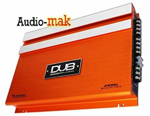 Amplificador dub 4 canales dub6004 2400 watts max