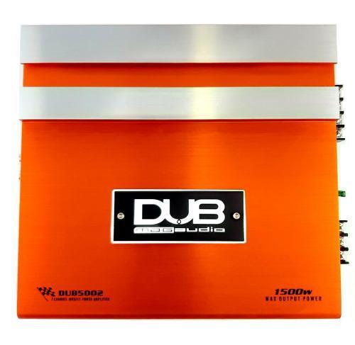 Amplificador fuente 1500 w 2 canales marca dub dub5002