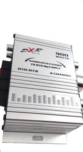 Amplificador gris 900w dxr mini 2 canales 010-072