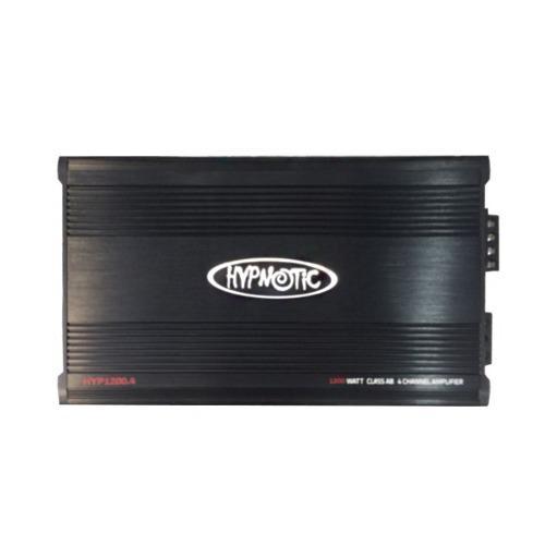AMPLIFICADOR HYPNOTIC HYP1200.4 CLASE AB 4 CANALES 1200W segunda mano  México (Todas las ciudades)