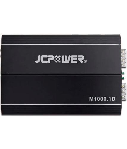 Amplificador jc power m1000.1d clase d 1000w