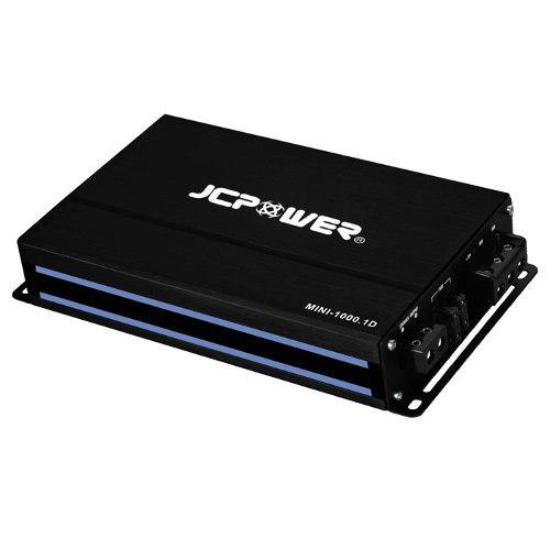 Amplificador jc power mini 1000.1d clase d para woofers
