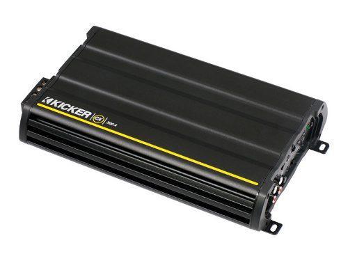 Amplificador kicker 4ch cx300.4 600w p set medios refurbishe