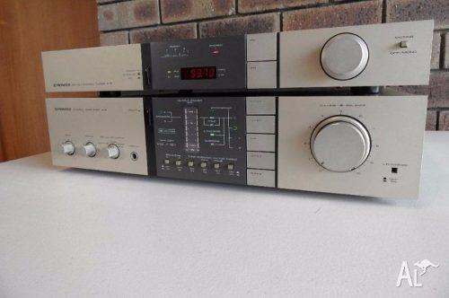 Amplificador pionner estereo a-6 y tunner f-5