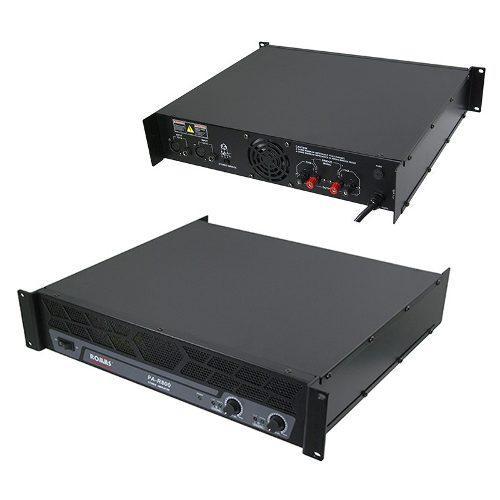 Amplificador profesional de potencia 800w rms toroidal