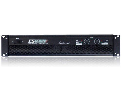 Backstage amplificador 1600 watts rms cs-16000 2 canales