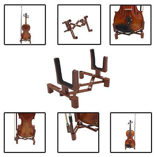 Baisidai durable de instrumentos musicales violín soporte