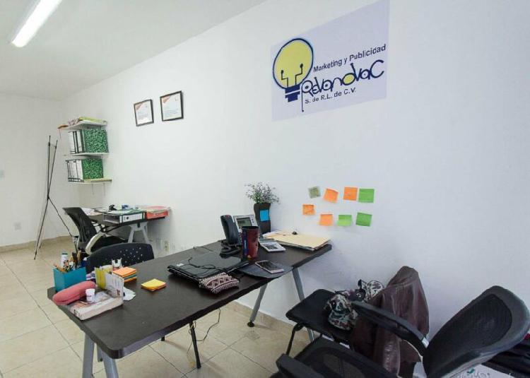 En narvarte, parque delta tu oficina equipada con servicios