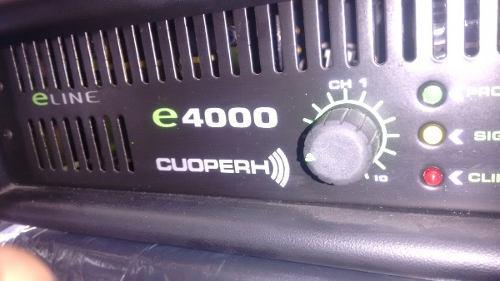 Equipo dj poder amplificador profesional cuoperh e4000