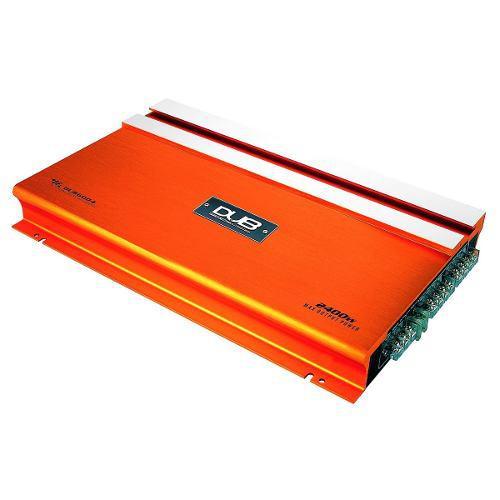 Fuente amplificador para bocinas y woofer dub audiobah 2400w
