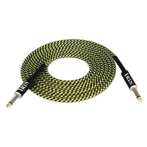 Guitarra el??ctrica bajo cable instrumento musical cable de