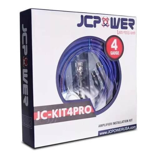 Kit de instalación jc power calibre 4 1000 watts 150a
