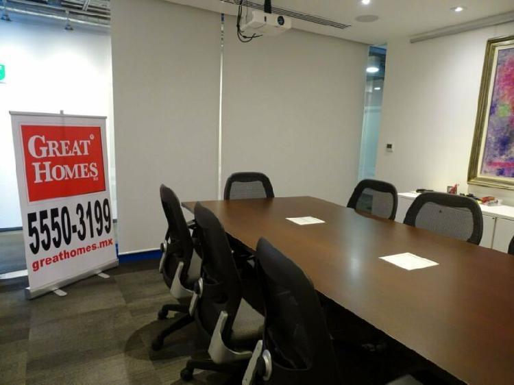 Moderno piso de oficinas equipadas huixquilucan