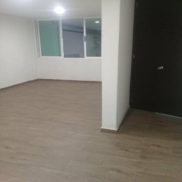 Renta amplia y bonita oficina en colonia roma norte