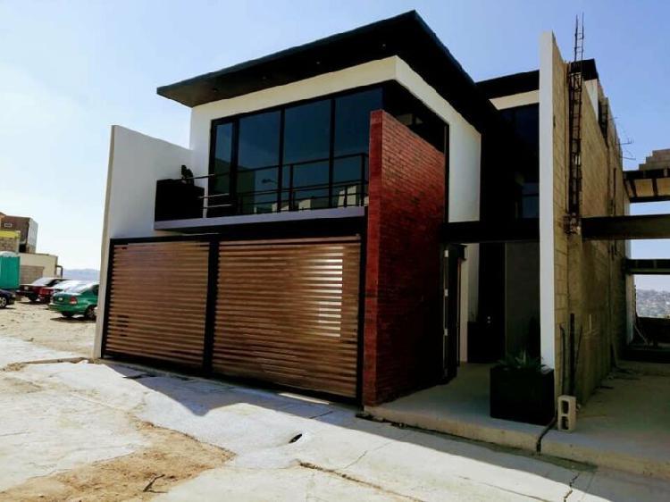 Vendo casas nuevas diseño y acabado modernistas y de 1er.