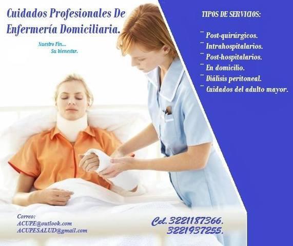 Acupe cuidados profesionales de enfermeria