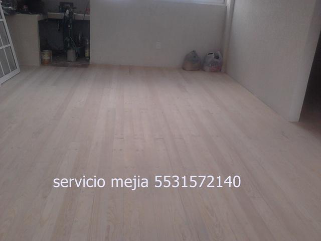 Colocacion pulido y barnizado de pisos de madera