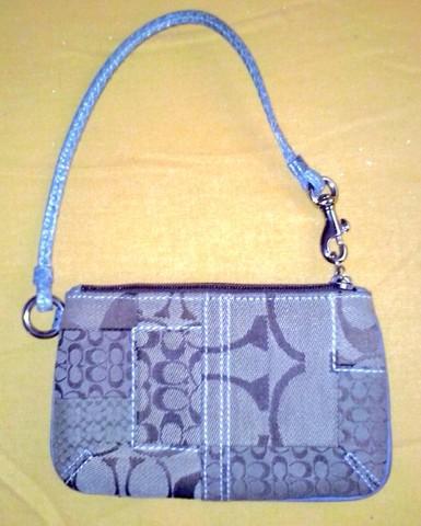 Cartera y bolsa de la marca coach originales