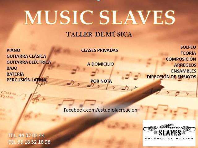 Clases de música particulares