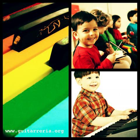 Clases y cursos de iniciaciòn musical para niños.