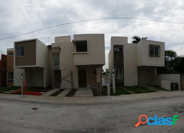 Casa sola residencial en venta en unidad habitacional el coyol ivec, veracruz