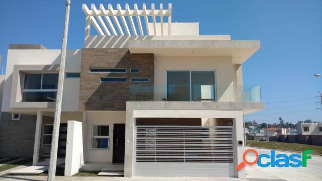 Casa sola residencial en venta en colonia graciano sánchez romo, boca del río