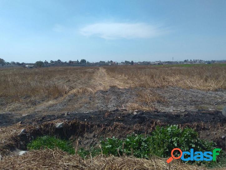Terreno en venta ejido xhahuento tultepec