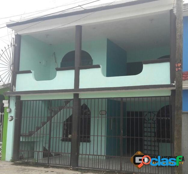 Casa en venta Fracc. Lagunas (Planta alta), Centro, Tabasco.
