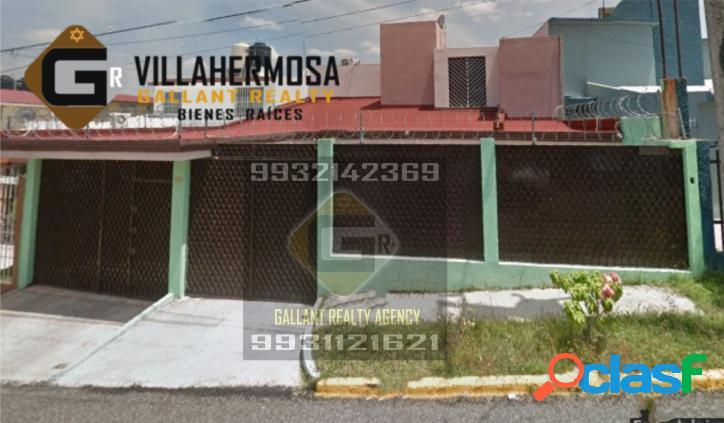Casa en plaza villahermosa, tabasco