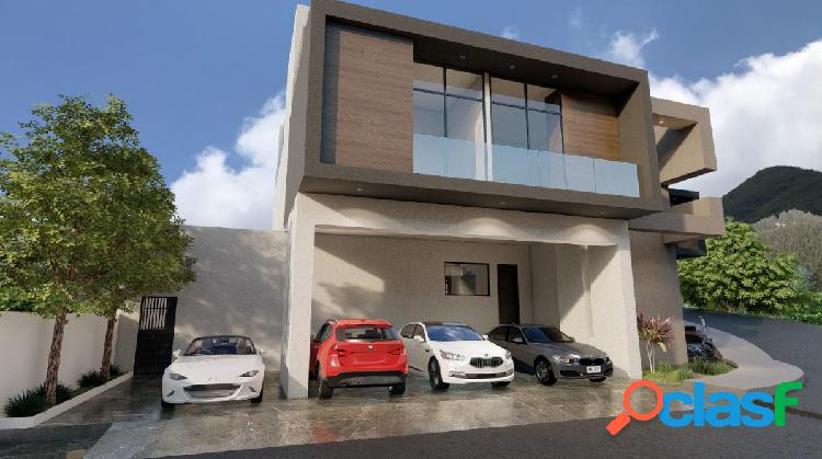 Casa nueva en venta colonia la herradura 22,500,000.00 carretera nacional monterrey nuevo leon
