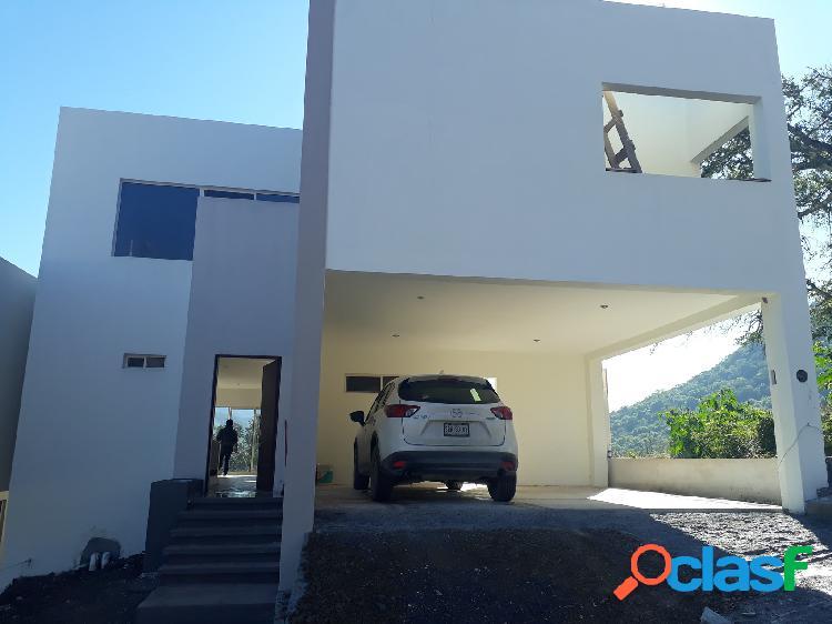 Casa venta carretera nacional cumbres de santiago excelentes vistas santiago nl