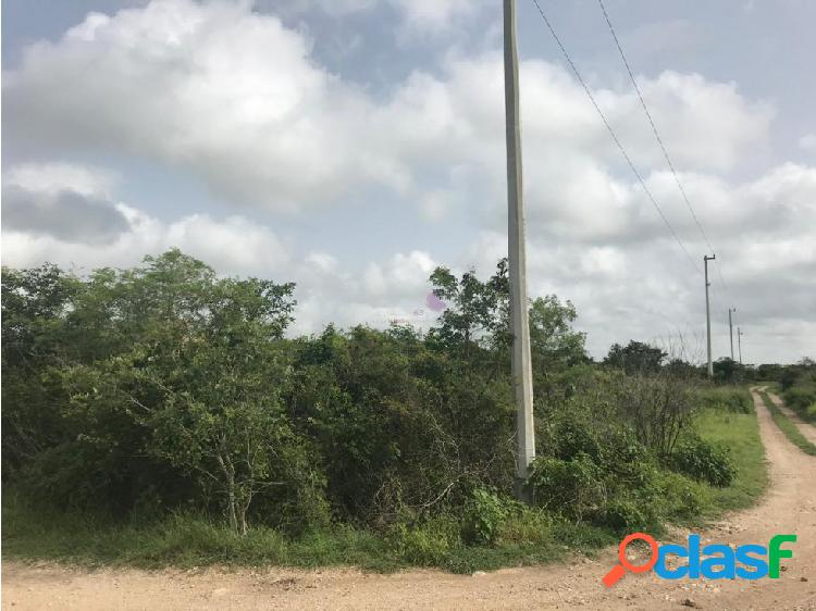 Terreno en venta en cholul merida