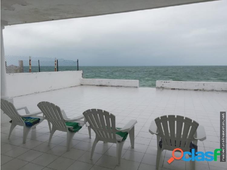 "Casa ""bellavista"" frente al mar, en chelem"