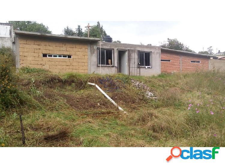 Venta terreno con casa campestre en atlihuetzia
