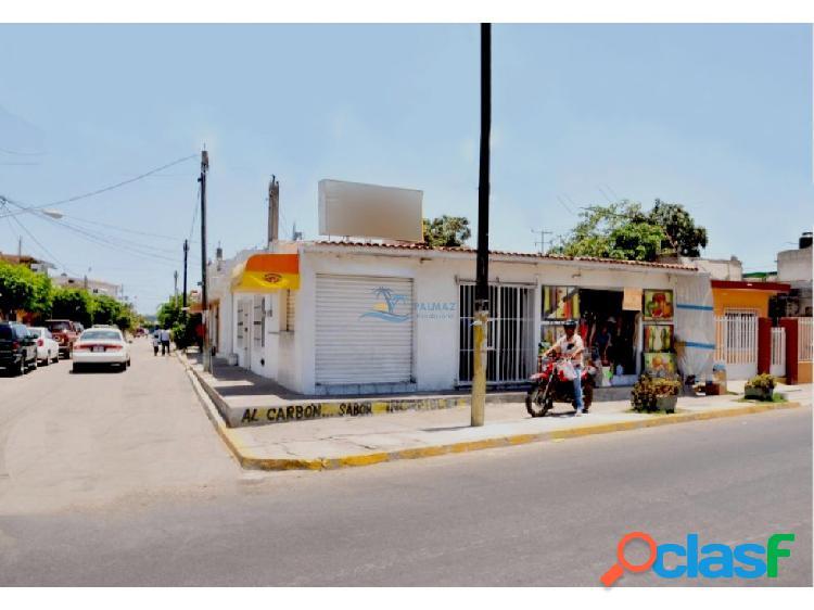 Casa venta mazatlán de 2 recámaras y 3 locales
