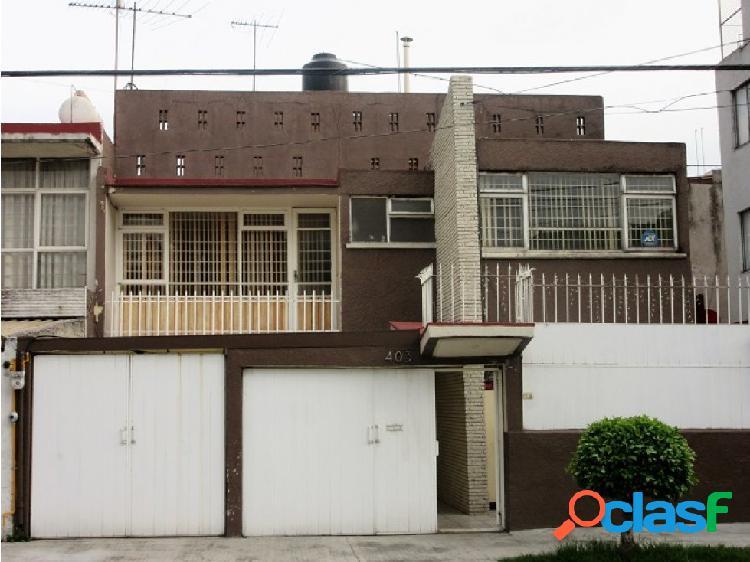 Casa en venta en electricistas, azcapotzalco