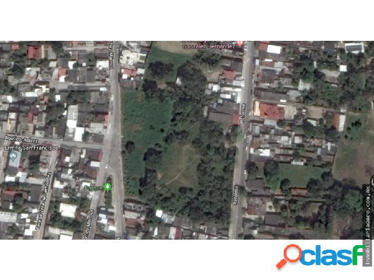 Venta - terreno urbano la sevillana comalcalco