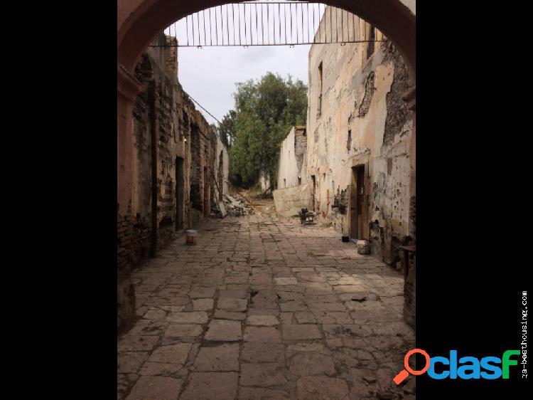 Excelente terreno centro historico de querétaro.