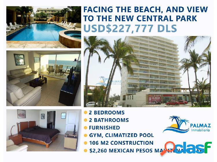 Sale ​​furnished apartment at mazatlán close beach
