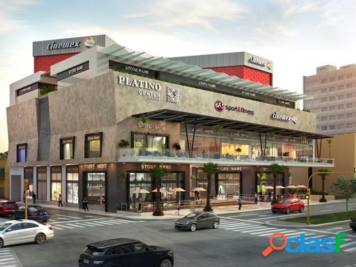 Vendo locales comerciales en platino center mirador puebla