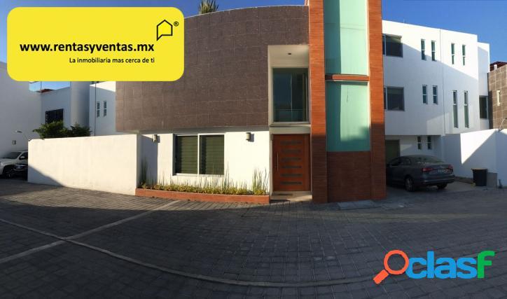 Espectacular residencia en venta en el barreal con roof
